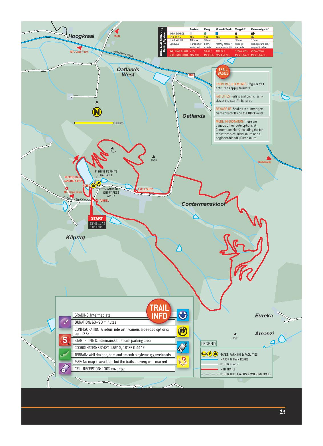 Namaqua National Park NORTHERN CAPE MTB ROUTE MAP-page-001