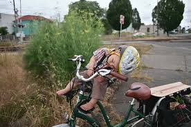 sleep on bike