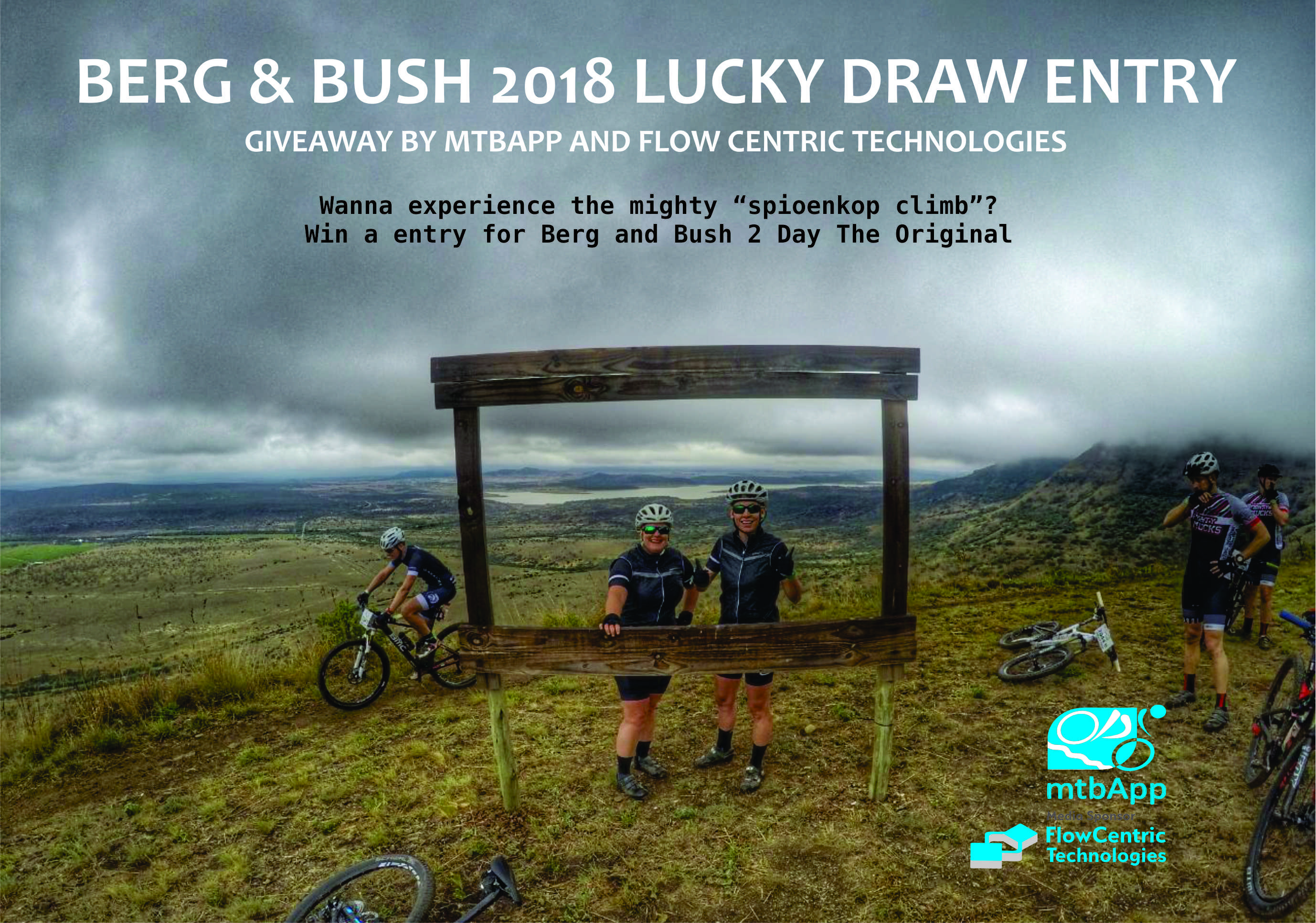 Are you ready to ride the 2018 Berg & Bush Win a Team Entry - MtbApp