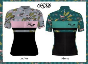 Berg & Bush Limited edition cycling jersey