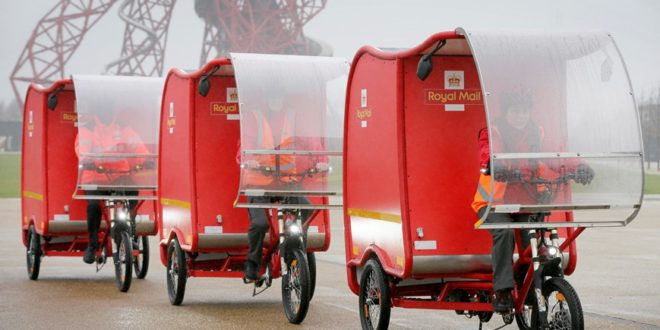 ebikes royal mail