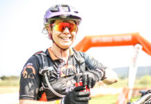 After the shortest stage of the race there were lots of smiles on the Kurland finish line at the BUCO Dr Evil Classic. Photo by Oakpics.com.