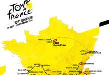 Tour de France Map 2020